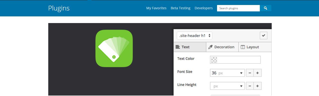 Plugin SiteOrigin CSS