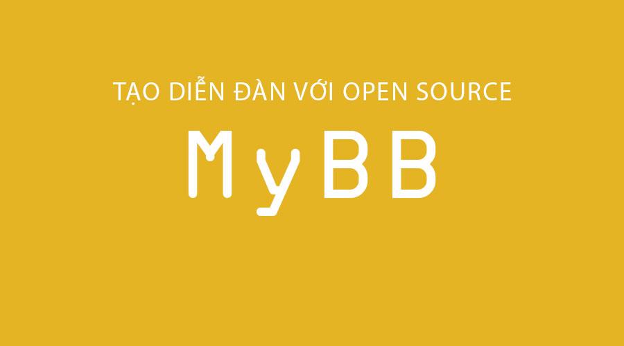 Hướng dẫn tạo diễn đàn với open source MyBB